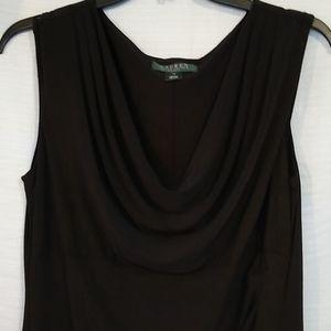 Lauren Ralph Lauren Little Black Dress Sz 14